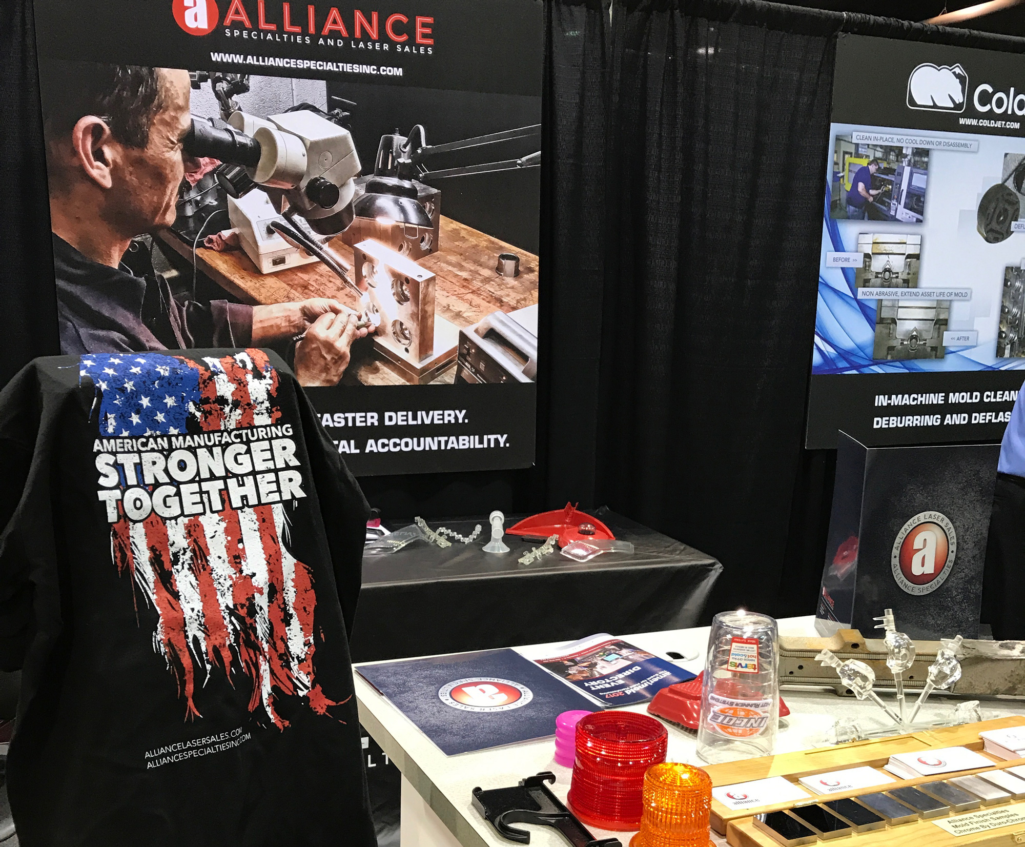 Alliance Specialties Booth