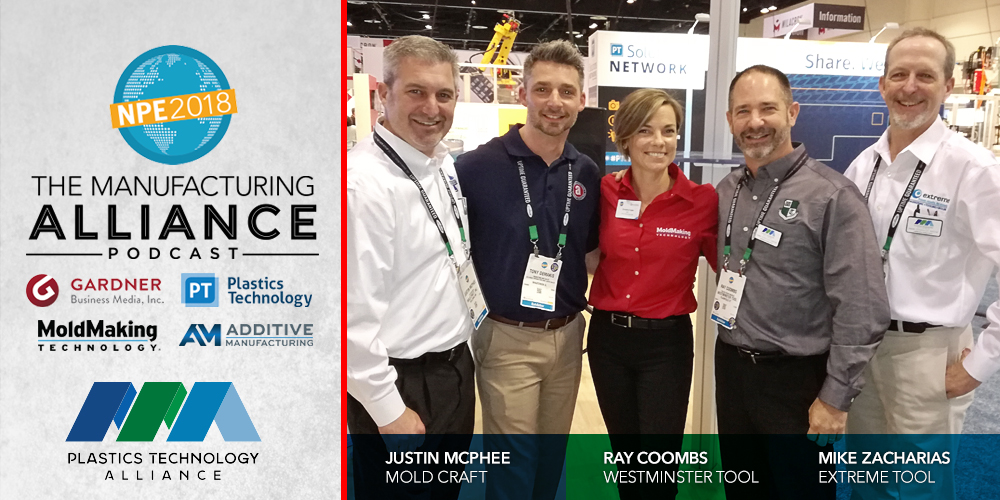 The Manufacturing Alliance NPE2018 : The Plastics Technology Alliance