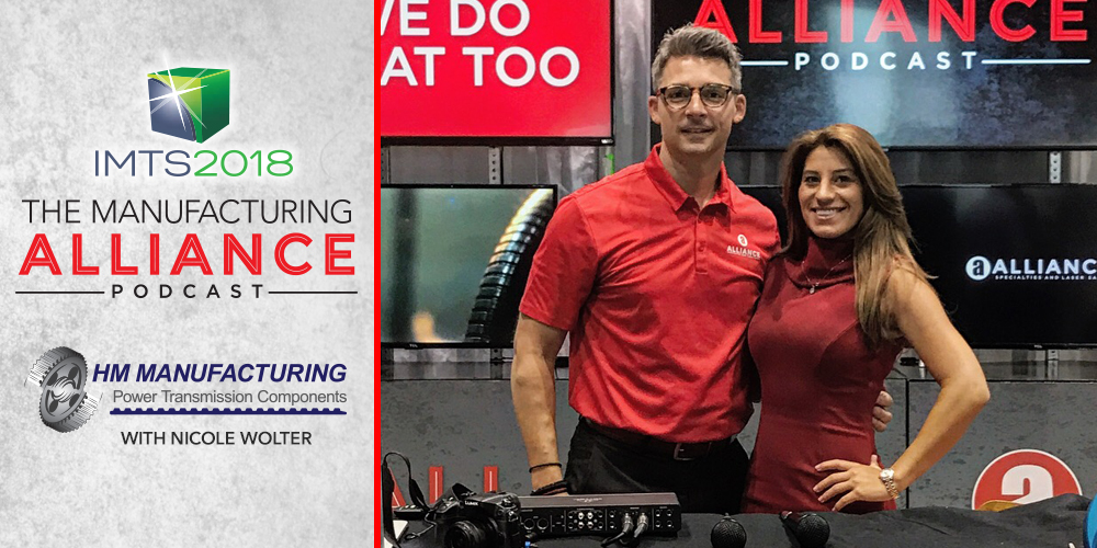 The Manufacturing Alliance IMTS2018: Nicole Wolter | HM Manufacturing