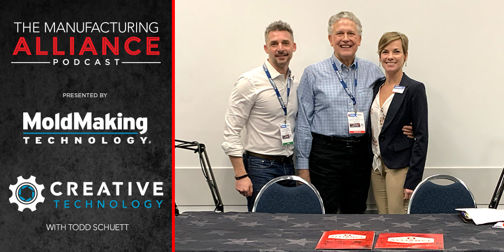 The Manufacturing Alliance Podcast | MoldMaking Technology Presents: Creative Technology